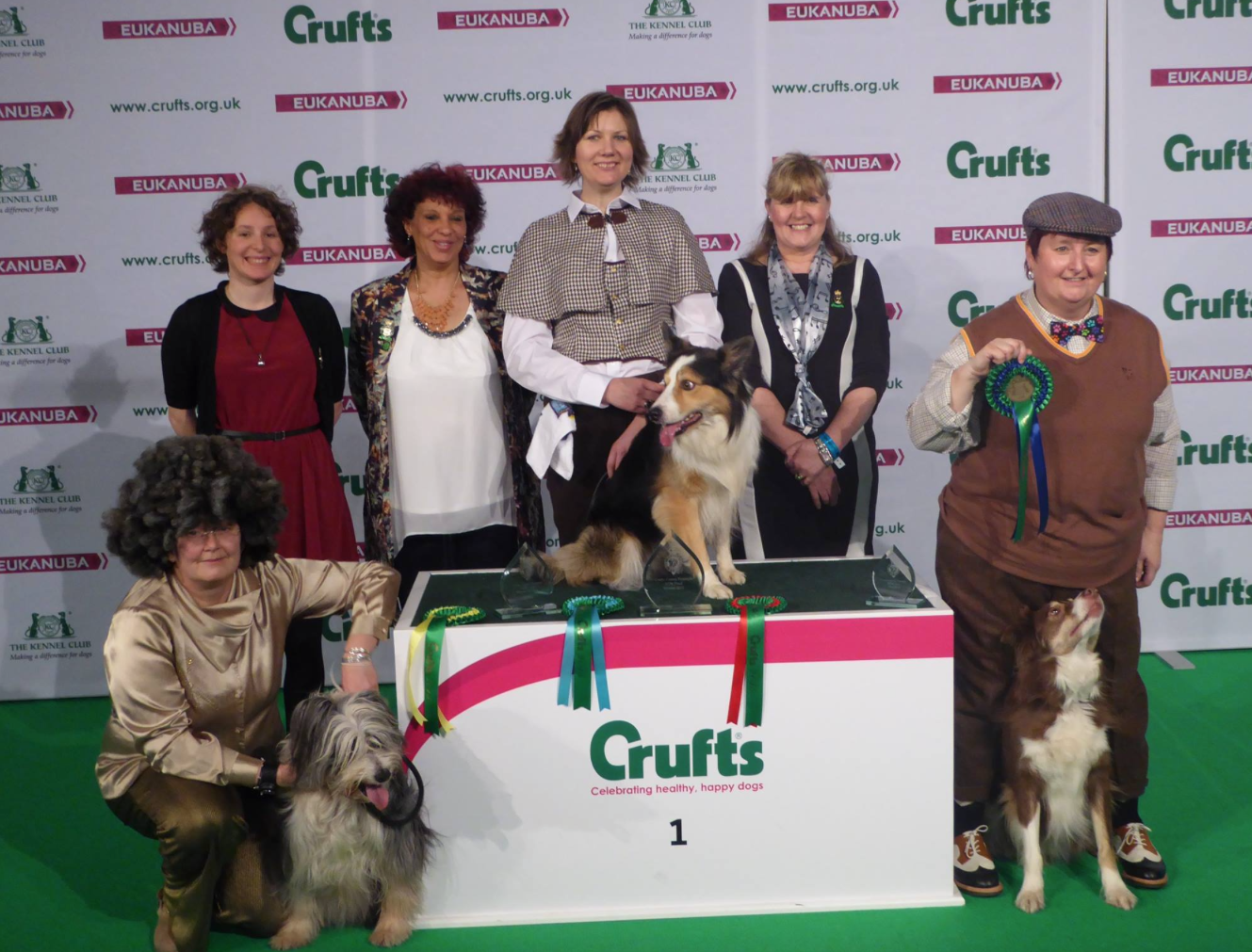 Crufts 2015 top three